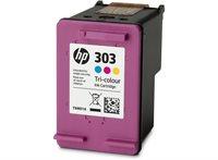 HP 303 original Tinte cyan, magenta, gelb - T6N01AE