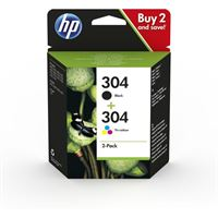 HP 304 Original Combo Pack - 2er-Pack BKCMY - 3JB05AE