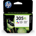 HP 305XL Original HC Tinte CMY - 3YM63AE