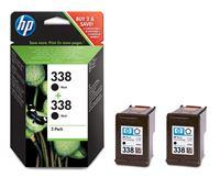 HP 338 original 2er-Pack Tinte schwarz - CB331EE