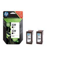 HP 339 original 2er-Pack Tinte schwarz - C9504EE
