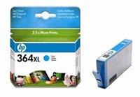 HP 364XL original HC Tinte cyan - CB323EE
