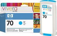 HP 70 original Tinte cyan - C9452A