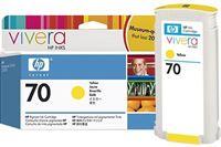 HP 70 original Tinte gelb - C9454A