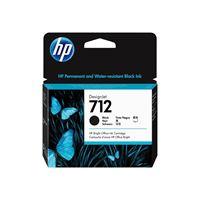 HP 712 Original HC Tinte schwarz - 3ED71A