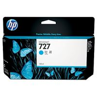HP 727 original Tinte cyan - B3P19A