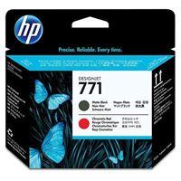 HP 771 Mattschwarz/Chromrot DesignJet Druckkopf - CE017A