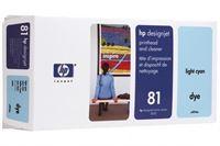 HP 81 cyan hell DesignJet Druckkopf und Druckkopfreiniger - C4954A