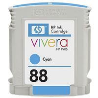HP 88 original Tinte cyan - C9386AE