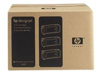 HP 90 original 3er-Pack Tinte magenta - C5084A