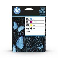 HP 912 original Tinte 4er-Pack BKCMY - 6ZC74AE