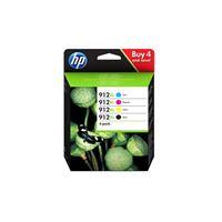 HP 912XL original Tinte 4er-Pack BKCMY - 3YP34AE