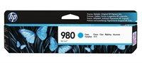 HP 980 original Tinte cyan - D8J07A