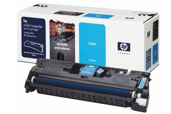 HP Druckkassette für Color Laserjet 2500 cyan