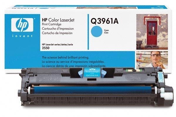 HP Druckkassette für Color Laserjet 2550, cyan
