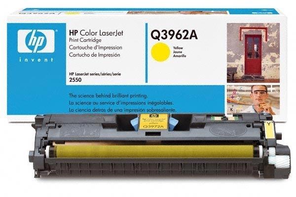 HP Druckkassette für Color Laserjet 2550, gelb