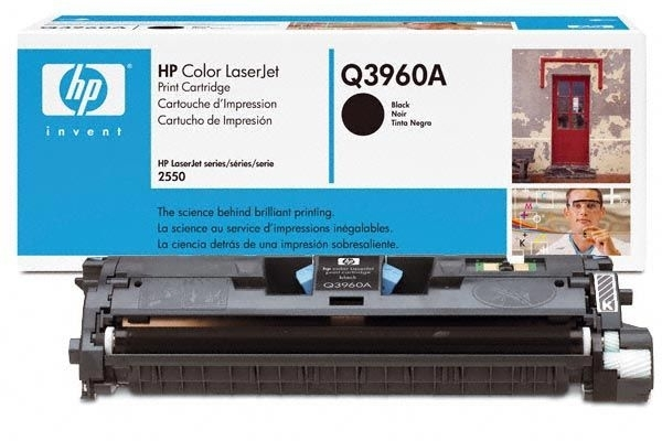 HP Druckkassette für Color Laserjet 2550, schwarz