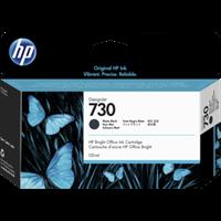 HP Original - 730 Tinte matt schwarz -  P2V65A