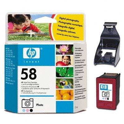 HP Tintenpatrone Nr. 58 DeskJet 5550, color