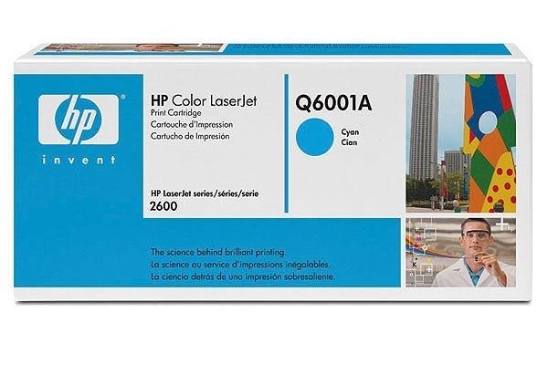 HP Toner cyan, für Color LaserJet 2600N - Q6001A