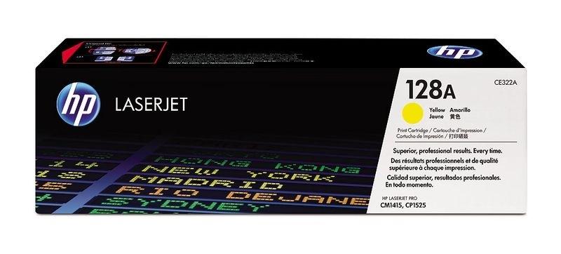 HP Toner gelb 128A für CP1525, CE322A