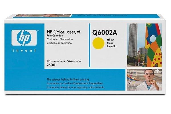 HP Toner gelb, für Color LaserJet 2600N - Q6002A