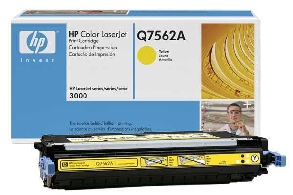 HP Toner gelb für HP CLJ 3000, Q7562A