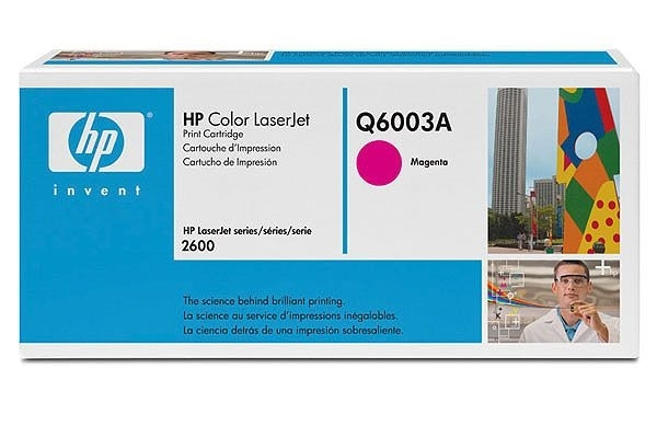 HP Toner magenta, f. Color LaserJet 2600N - Q6003A
