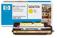 HP Toner Original für Color LaserJet 3500, yellow