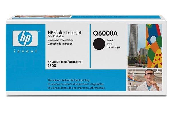 HP Toner schwarz, f. Color LaserJet 2600N - Q6000A