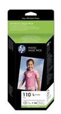 HP Valuepack, Tinte Nr. 110 color + Fotopapier