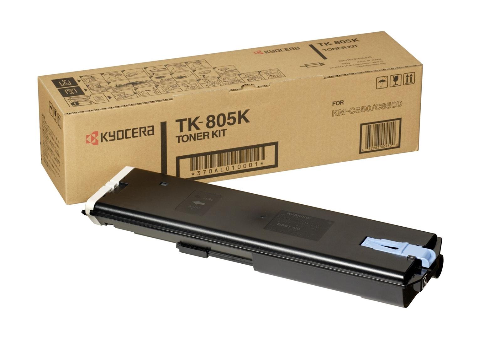 Kyocera Toner Original für KM-C805, schwarz