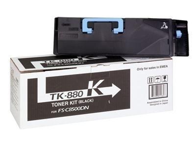Kyocera Toner schwarz für FS-C8500DN, TK-880K