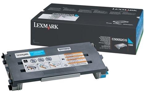 Lexmark Tonerkassette cyan, original, C500H2CG