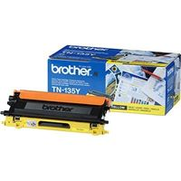 Original Toner für Brother HL-4050    - TN-135Y -