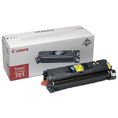 Original Toner für Canon LBP-5200, gelb