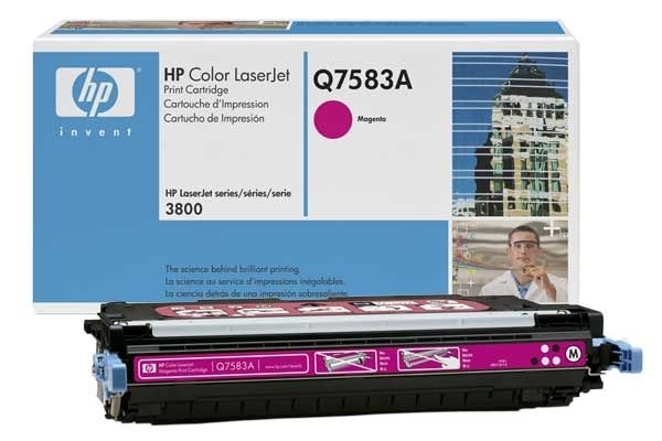 Original Toner magenta für HP 3800, Q7583A