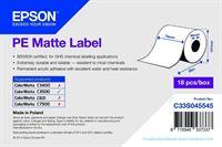 PE Matte Label - Continuous Roll - C33S045545