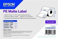 PE Matte Label - Die-cut Roll - C33S045551
