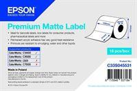 Premium Matte Label - Die-cut Roll - C33S045531