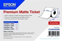Premium Matte Ticket Roll - C33S045389