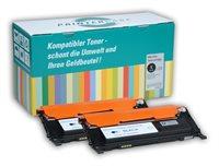 PrinterCare Doppelpack Toner schwarz PC-CLP310BK2