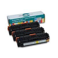 PrinterCare Tonerpaket - PC-CLJCP1215-CMY