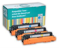 PrinterCare Tonerpaket CMY - PC-CLJCP4525-CMY