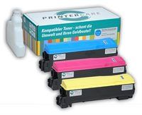 PrinterCare Tonerpaket CMY - PC-TK570-CMY
