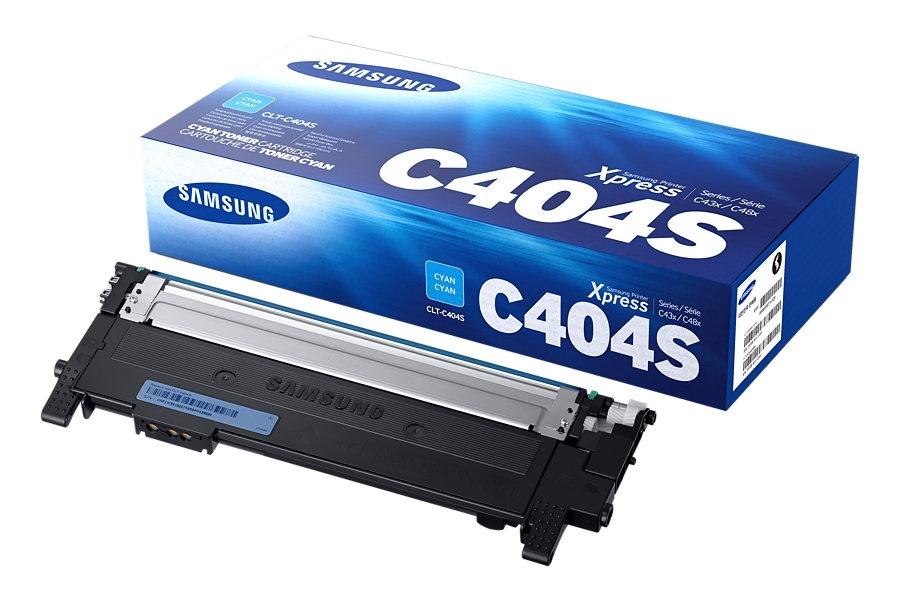 Samsung Original - Toner cyan -  CLT-C404S/ELS
