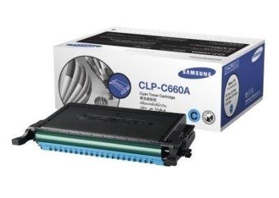 Samsung Toner cyan für CLP-660, CLP-C660A/ELS