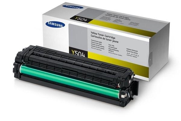 Samsung Toner gelb , CLT-Y504S/ELS