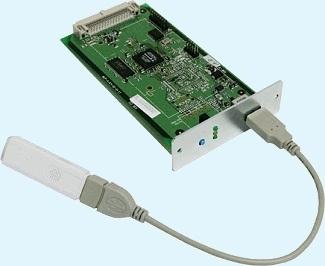 SEH Wireless-LAN-Einbau-Printserver (802.11 b/g/n)